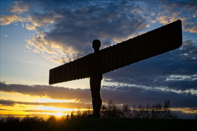Rob Cole | Angel of the North Silhouette