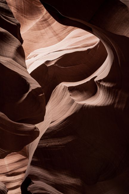 Peter O'Reilly | Antelope Canyon Shapes #1
