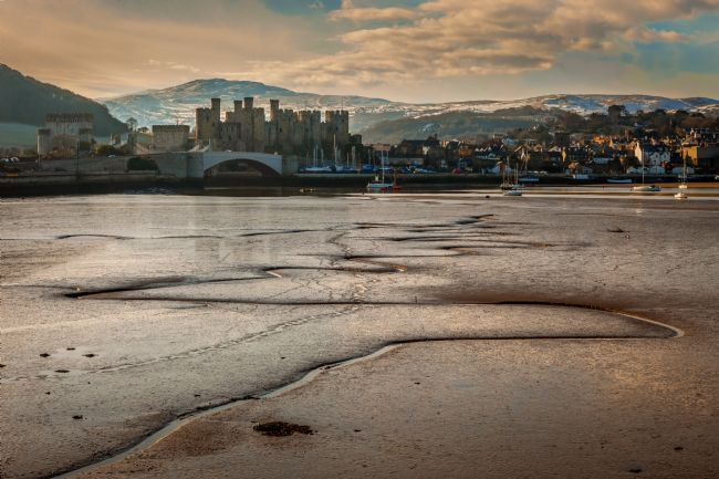 Peter O'Reilly | Low Tide, River Conwy