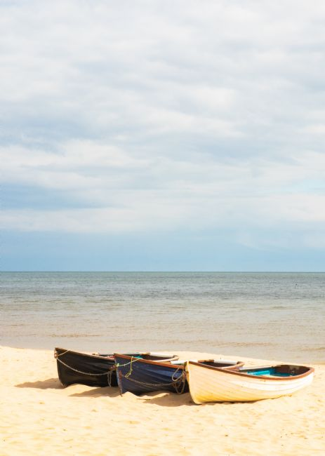 Christopher Haynes | Rowing Boats on Bournemouth Beach