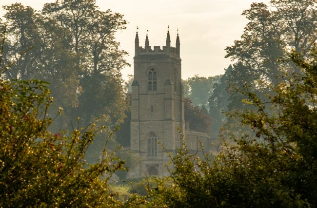 Christopher Haynes | St Edmund's Church in the morning mist