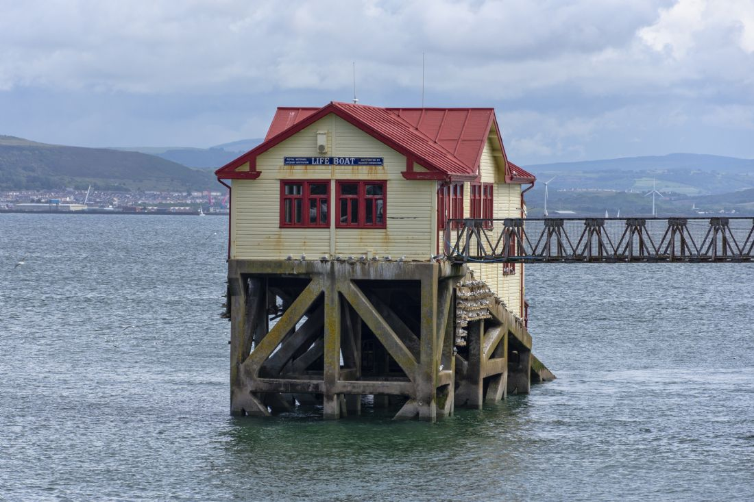 Steve Stamford | Mumbles old lifeboat station