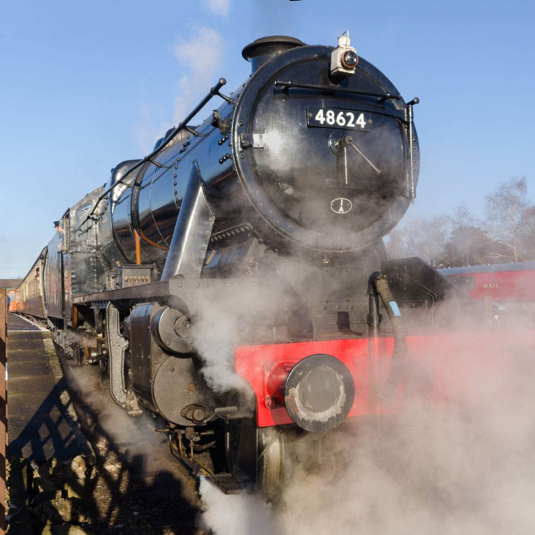 Steve Stamford | 48624 Steam locomotive
