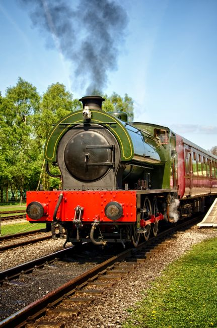 Steve Stamford | Steam locomotive at Rowsley