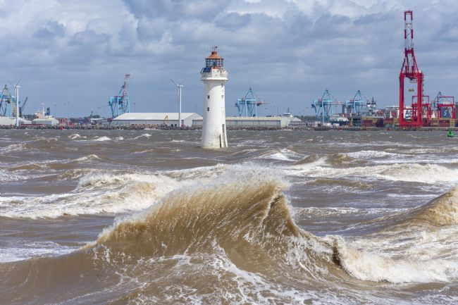 Steve Stamford | Choppy day at Perch Rock