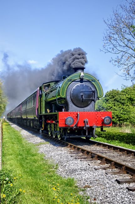 Steve Stamford | Lord Phil steam train