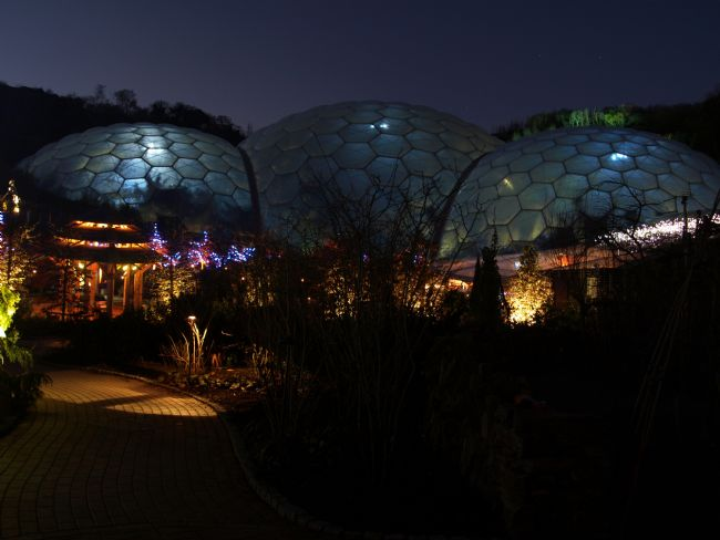 Steve Stamford | Eden Project at night