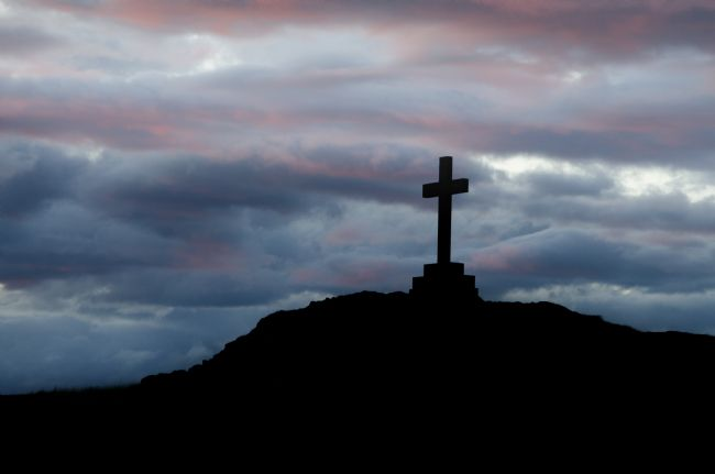 Steve Stamford | The cross on the hill