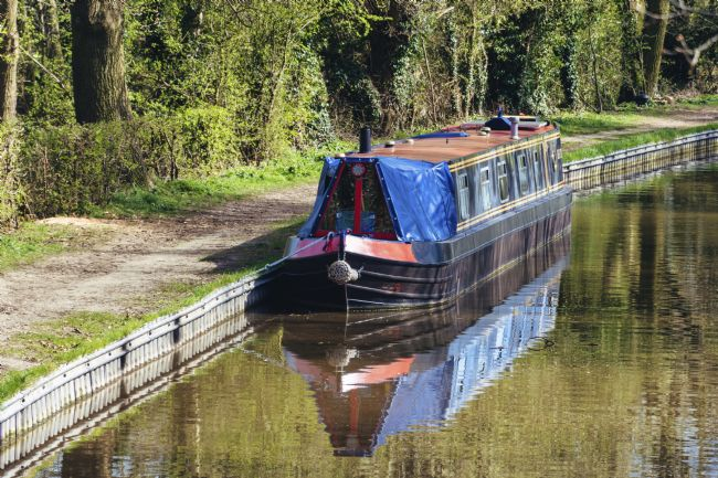 Steve Stamford | Narrowboat moored