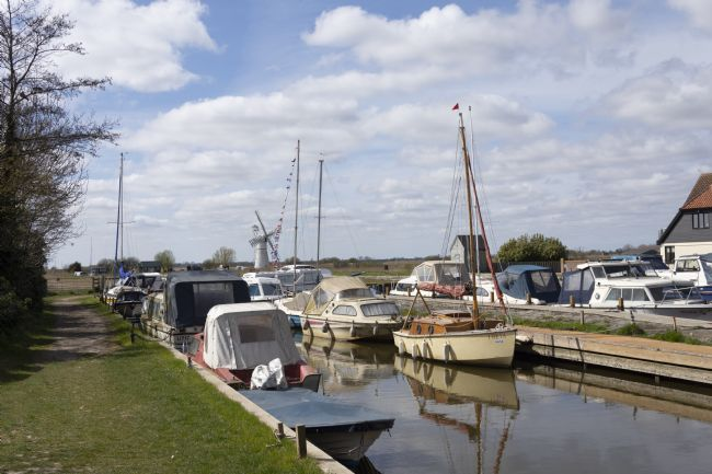 Steve Stamford | Boats moored at Thurne