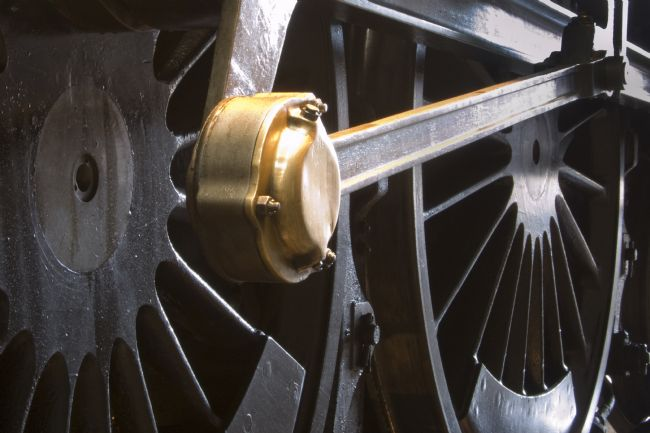 Steve Stamford | Steam train wheel