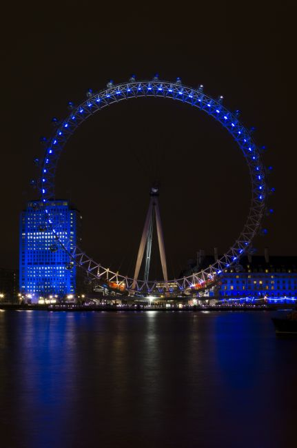 Steve Stamford | London Eye at night