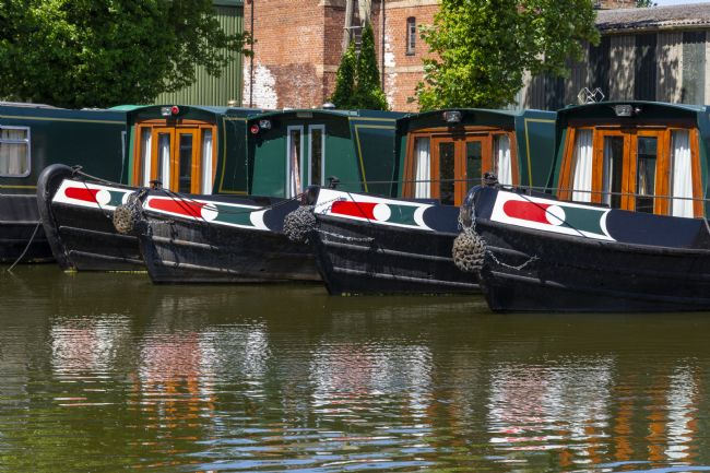 Steve Stamford | Canal boat line up