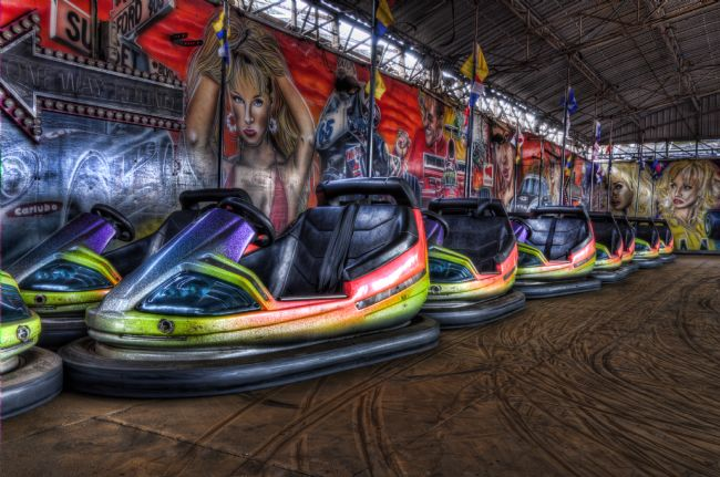 Steve Stamford | Fairground dodgems