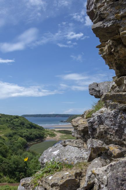 Steve Stamford | View from Pennard Castle portrait