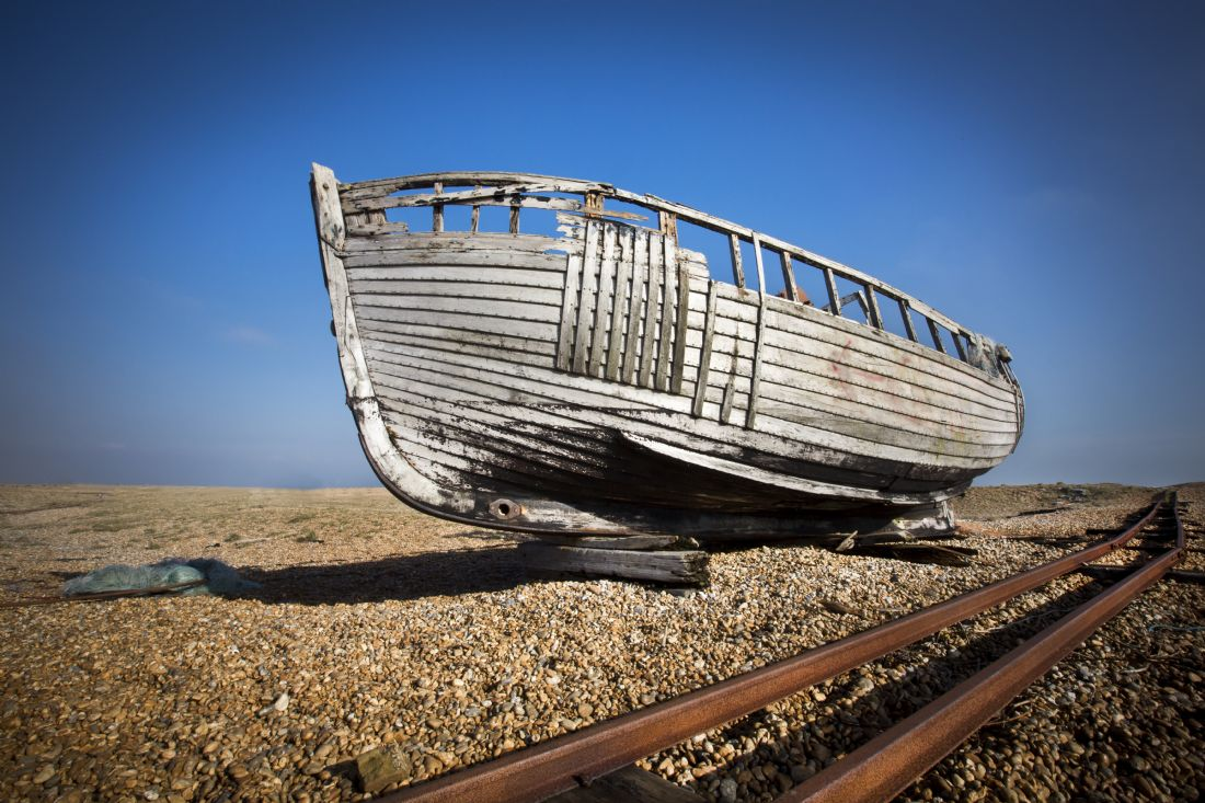 David Hare | Abandoned Boat