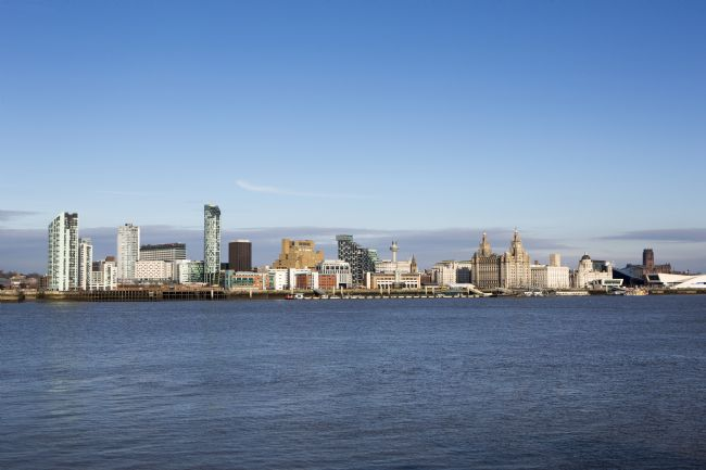 David Hare | Liverpool City waterfront Skyline
