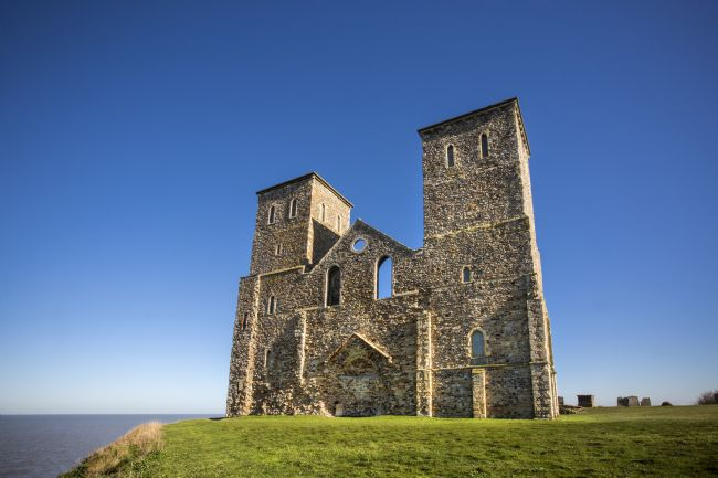 David Hare | Reculver Church