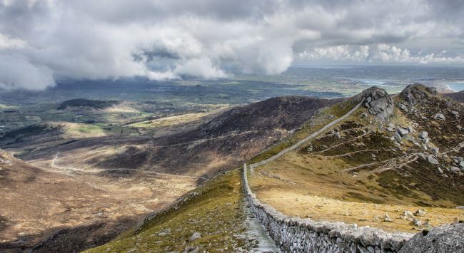 Peter Lennon | View From Slieve Bearnagh