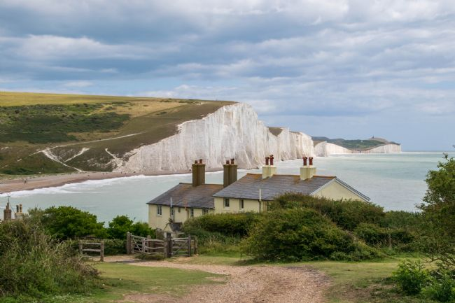 Hannah Temple | Coastguard Cottages at Seaford Head