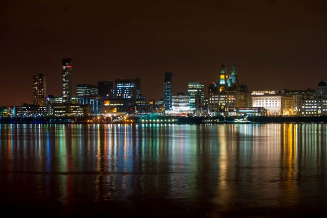 Hannah Temple | Liverpool Skyline at Night