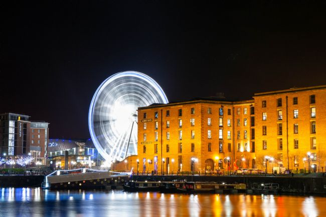 Hannah Temple | Liverpool Docks at Night