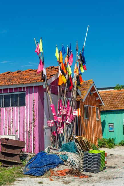 Stephen Rennie | Colourful pennants and fishermen's huts
