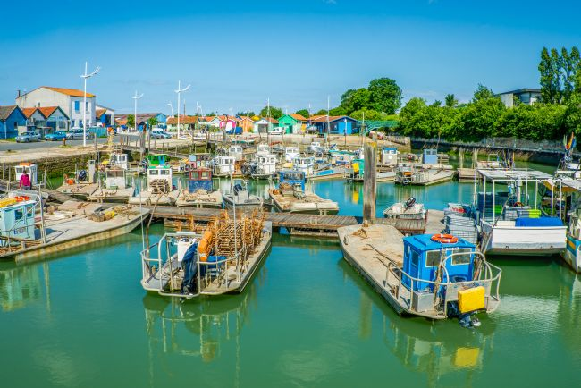 Stephen Rennie | Harbour on Oleron Island