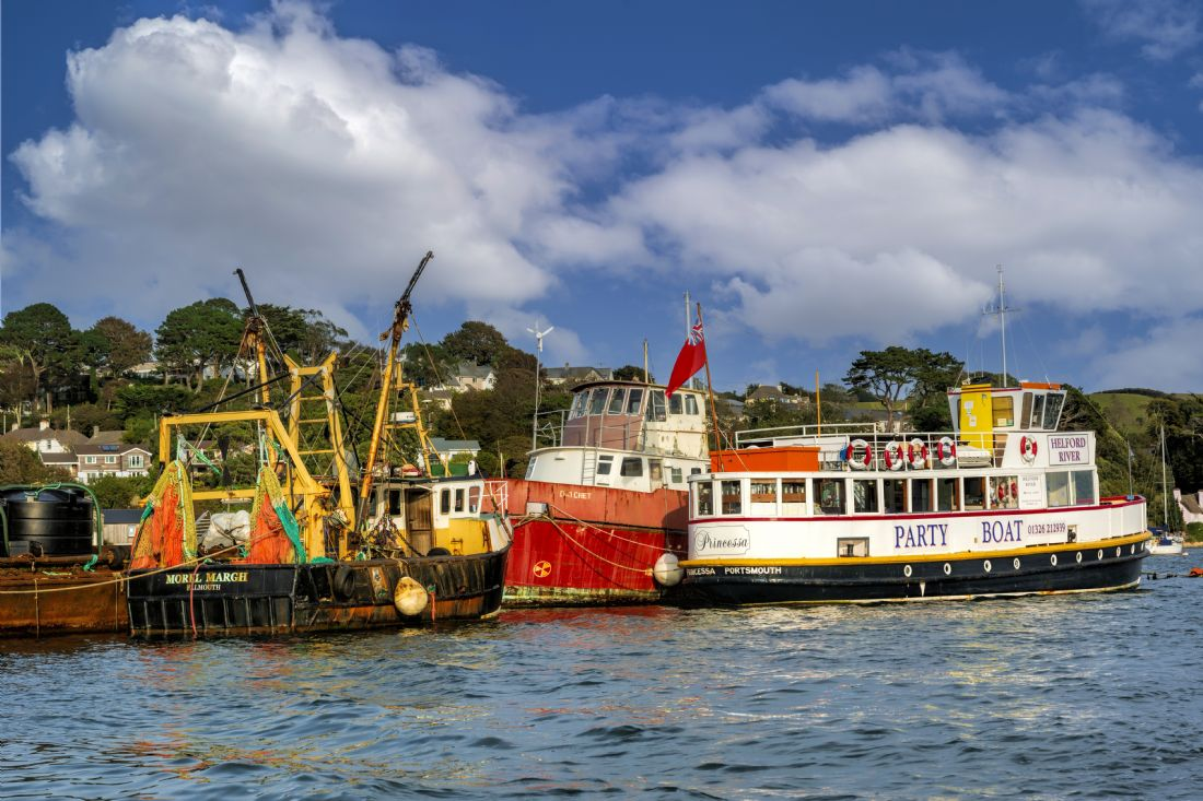 Mary Fletcher | Boats that Work, Flushing, Cornwall