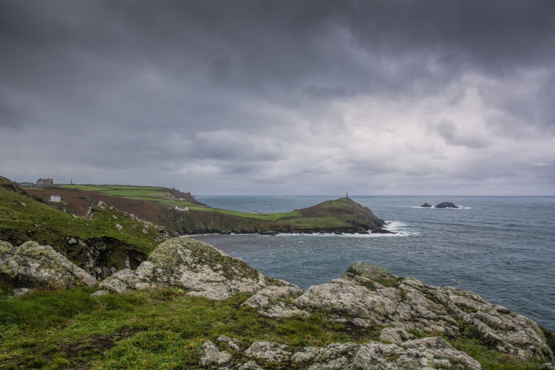 Mary Fletcher | Cape Cornwall and Brisons Rocks