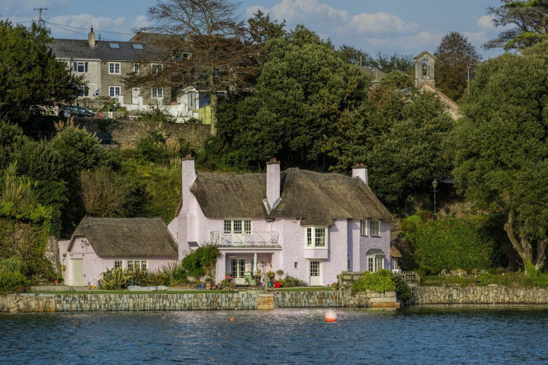 Mary Fletcher | Pink Thatched Cottage, Flushing