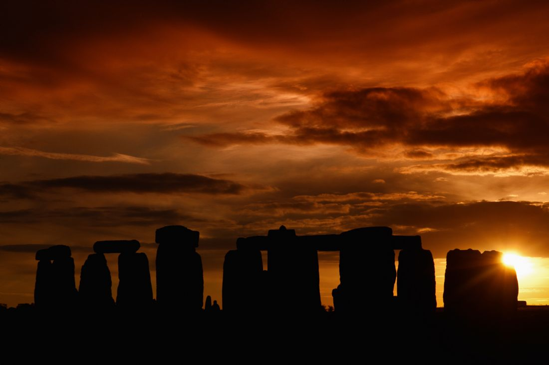 Mary Fletcher | Stonehenge Sunset