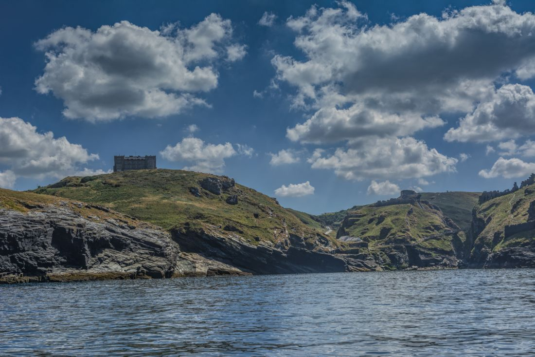 Mary Fletcher | Tintagel from the sea