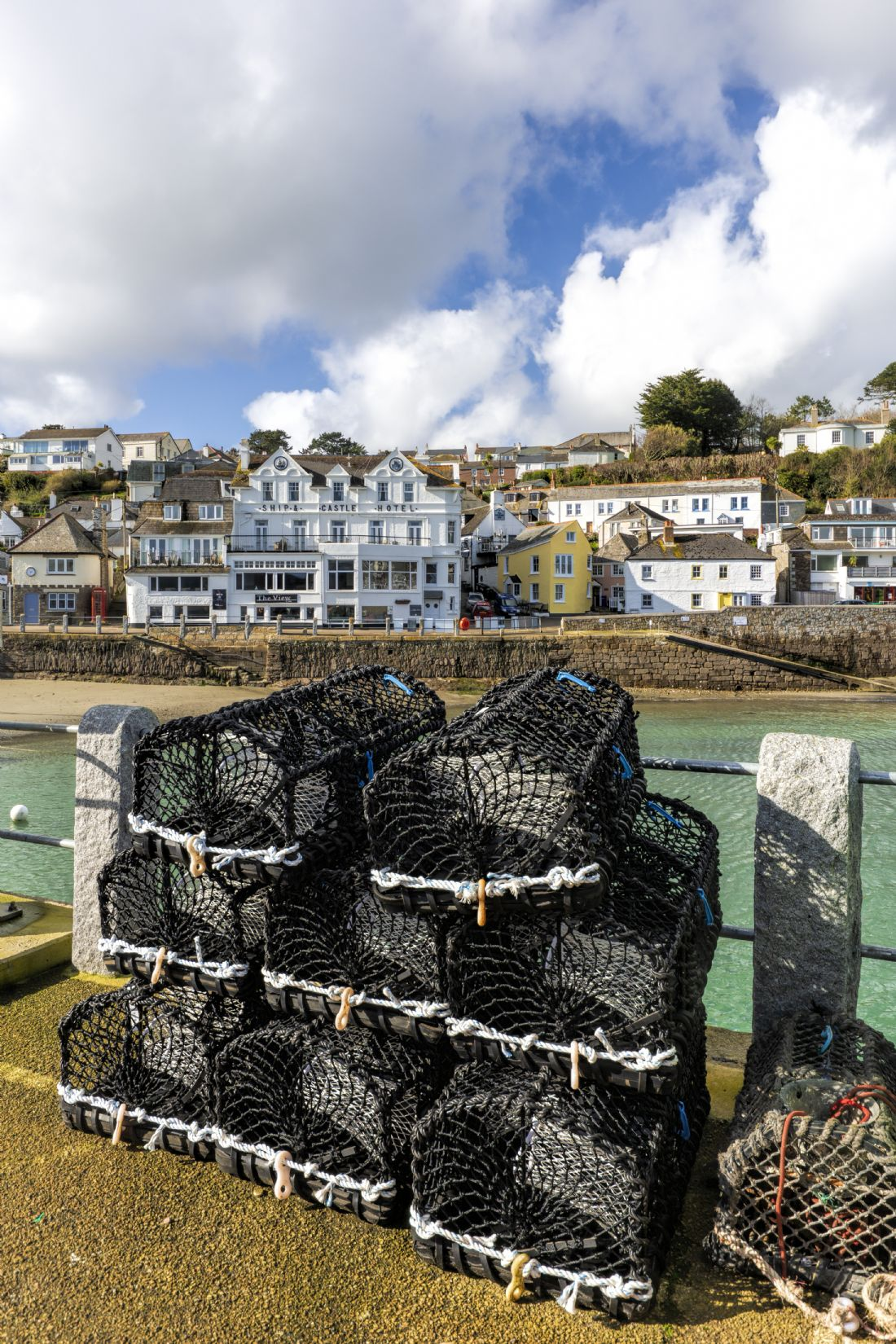Mary Fletcher | Lobster Pots in St Mawes