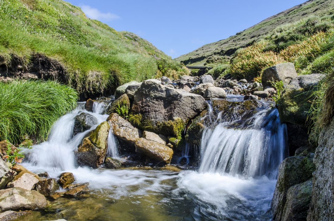 Mary Fletcher | Cot Valley Waterfall