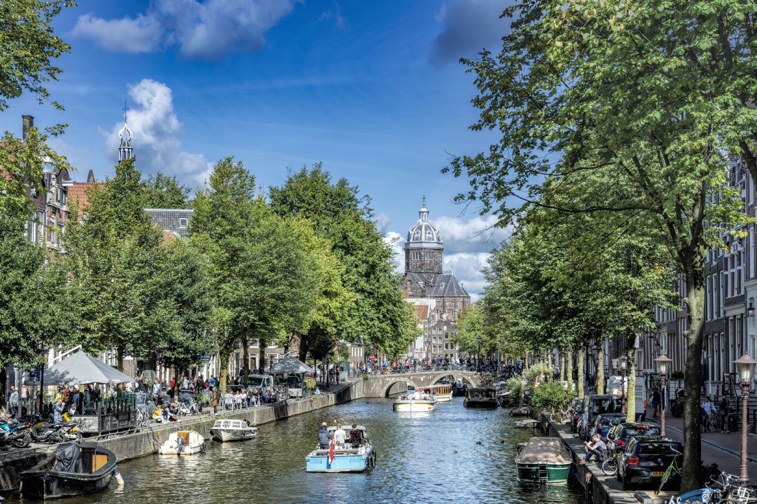 Mary Fletcher | Busy Amsterdam