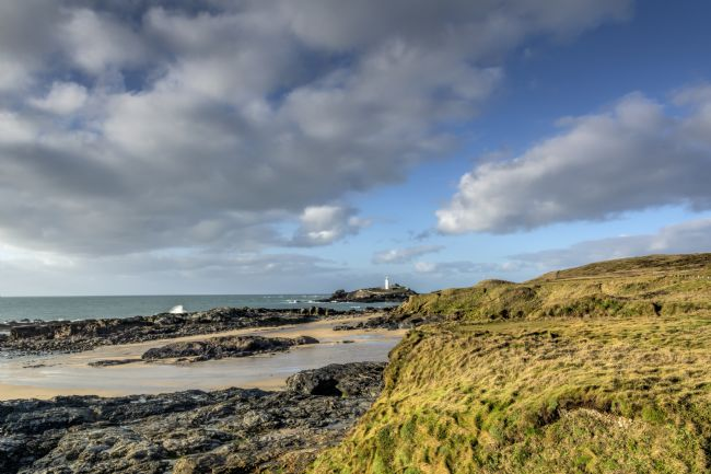 Mary Fletcher | Godrevy Lighthouse from Gwithian Beach