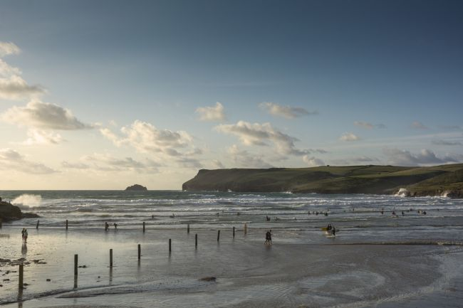 Mary Fletcher | High Tide at Polzeath