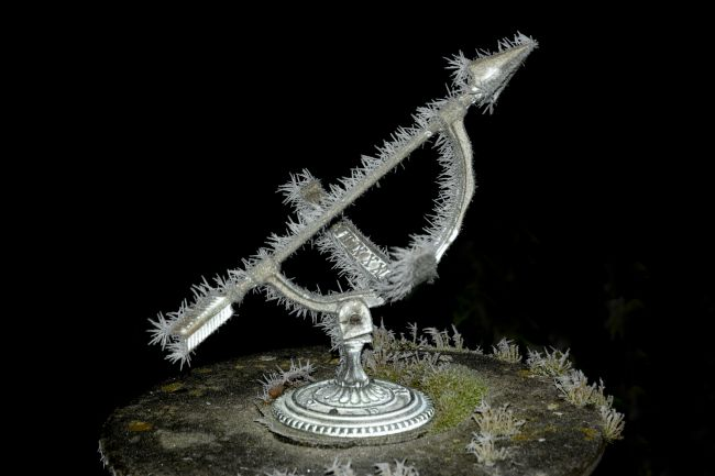 Mary Fletcher | Frosted Sundial
