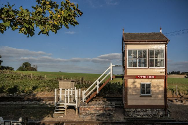 Mary Fletcher | Pitsford Sidings signal box