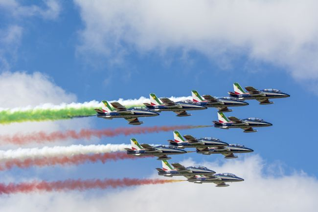 Mary Fletcher | The Frecce Tricolori