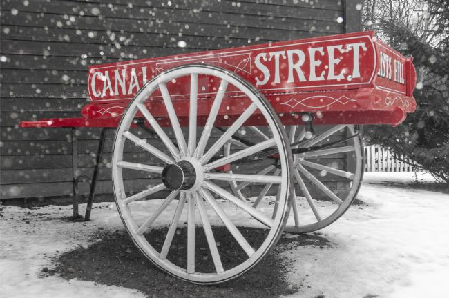 Mary Fletcher | Old Cart