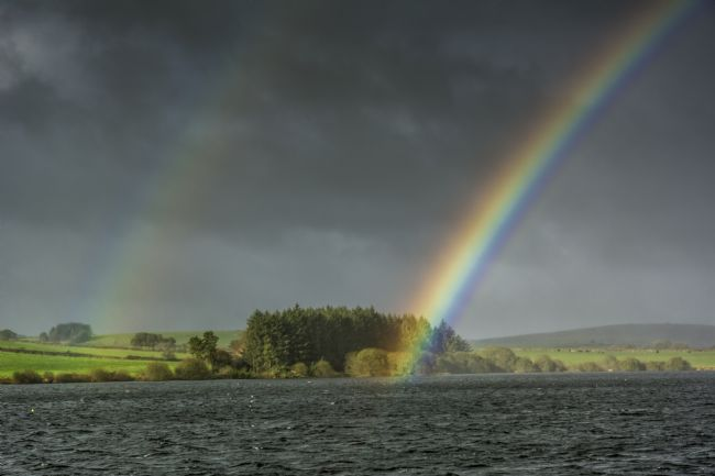 Mary Fletcher | Rainbows over Siblyback Lake