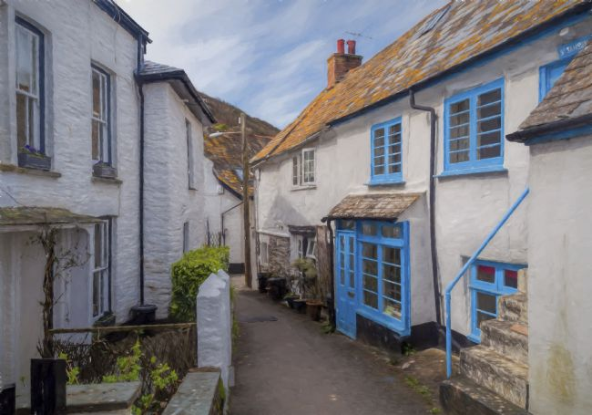 Mary Fletcher |  Port Isaac Street