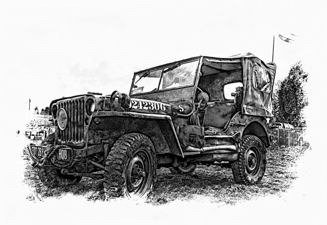 Mary Fletcher | US Army Jeep