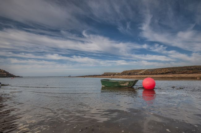 Mary Fletcher | Green Tender, Pink Buoy