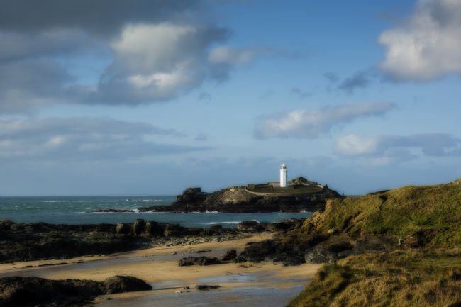 Mary Fletcher |  Godrevy Lighthouse and Beach