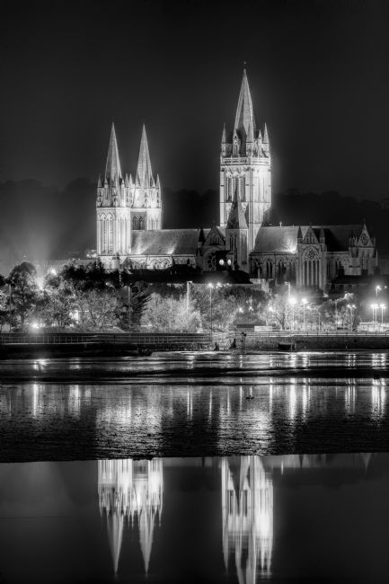 Mary Fletcher | Truro Cathedral at Night