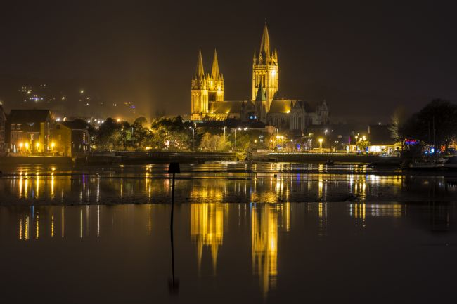 Mary Fletcher | Truro City at Night