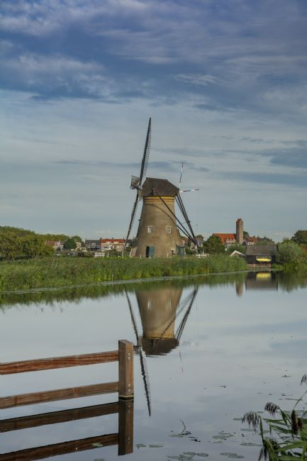 Mary Fletcher | Windmill of Kinderdijk